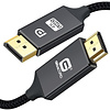 Gigacord Gigacord 6Ft Displayport to HDMI Male Male Nylon Braided, High Speed Cable