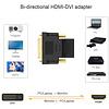 Gigacord Gigacord HDMI Female to DVI-D Dual Link-Male (24+1) Adapter Converter, Black