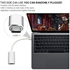 Gigacord Gigacord USB-C 3.1c Type-c  Male to HDMI Female Cable Adapter (Thunderbolt 3 Compatible) 4K, Silver