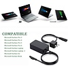 Gigacord Surface Pro Charger, 44W 15V 2.58A Power Supply AC Adapter Charger for Microsoft Surface Pro 3/4/5/6/7, Microsoft Surface Laptop 3/2/1, Surface Go/Book, with 6ft Power Cord