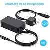Gigacord [Upgraded Version] Surface Pro Charger 65W for Surface Pro 3/4/5/6/7 Power Supply Adapter, Compatible for Both Microsoft Surface Book Laptop/Tablet,Works with 65W&44W&36W&24W (6.6 Ft Cord)