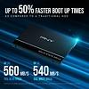 """PNY PNY CS900 120GB 3D NAND 2.5"""" SATA III Internal Solid State Drive (SSD) - (SSD7CS900-120-RB)"""