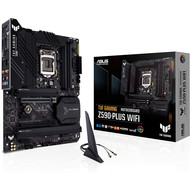 ASUS ASUS TUF Gaming Z590-Plus WiFi 6 LGA 1200 (Intel 11th/10th Gen) ATX Gaming Motherboard (PCIe 4.0, 3xM.2/NVMe SSD, 14+2 Power Stages, USB 3.2 Front Panel Type-C,2.5Gb LAN, Thunderbolt 4, Aura RGB)