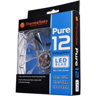 Thermaltake Thermaltake 120mm Pure 12 Series Blue LED Quiet High Airflow Case Fan CL-F012-PL12BU-A