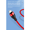 Gigacord Gigacord 5A 40W 3in1 Mobile Phone Aluminum Super Fast Charging USB Type C Micro USB A to USB C Charge Nylon Braided Charger Cord Cable