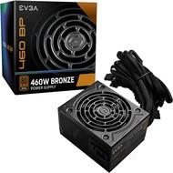 EVGA EVGA 460 BP, 80+ BRONZE 450W + 10W, 3 Year Warranty, ATX Power Supply 100-BP-0460-K1, 460W