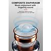 Gigacord M35 Bluetooth Waterproof Earbuds, 30mAh, JL Chip, 3-4 hours playtime, White