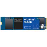 WD Western Digital 1TB WD Blue SN550 NVMe Internal SSD - Gen3 x4 PCIe 8Gb/s, M.2 2280, 3D NAND, Up to 2,400 MB/s - WDS100T2B0C