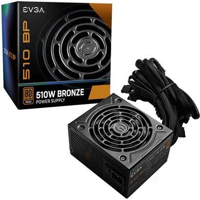 EVGA EVGA 510 BP, 80+ BRONZE 500W + 10W, 3 Year Warranty, Power Supply 100-BP-0510-K1, 510W