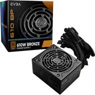 EVGA EVGA 610 BP, 80+ BRONZE 600W + 10W, 3 Year Warranty, Power Supply 100-BP-0610-K1, 610W