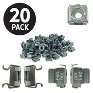 Kendall Howard Kendall Howard 10-32 Cage Nuts - 20 Pack