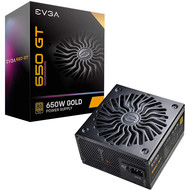 EVGA EVGA Supernova 650 GT, 80 Plus Gold 650W, Fully Modular, Auto Eco Mode with FDB Fan, 7 Year Warranty, Includes Power ON Self Tester, Compact 150mm Size, Power Supply 220-GT-0650-Y1