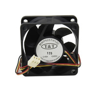 Replacement Chassis Fan 60mm x 25mm 3-pin Ball Bearing DC 12Volt