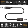 Gigacord Gigacord 12M (39Ft) USB 3.0 AOC Fiber Male Female Extension Cable