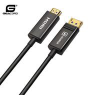 Gigacord Gigacord 15M (49Ft) Displayport to HDMI AOC Fiber Cable  21.6Gbps 4K@60hz