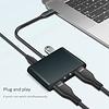 Gigacord Gigacord USB Type-C to Dual HDMI 4K, USB-C USB 3.0 & PD Charging Port
