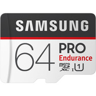 Samsung Samsung PRO Endurance 64GB 100MB/s (U1) MicroSDXC Memory Card with Adapter (MB-MJ64GA/AM)