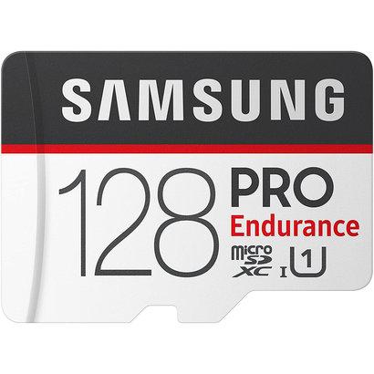 Samsung Samsung PRO Endurance 128GB 100MB/s (U1) MicroSDXC Memory Card with Adapter (MB-MJ128GA/AM)