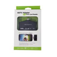 Gigacord USB OTG & MHL To HDMI HDTV Adapter SD/TF Card Reader Writer Samsung Android
