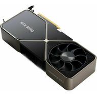 Nvidia NVIDIA GeForce RTX 3090 24GB GDDR6X PCI Express 4.0 Graphics Card Founders Edition - Titanium and Black