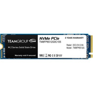 Teamgroup TEAMGROUP MP33 512GB SLC Cache 3D NAND TLC NVMe 1.3 PCIe Gen3x4 M.2 2280 Internal Solid State Drive SSD (Read/Write Speed up to 1,700/1,400 MB/s) Compatible with Laptop & PC Desktop