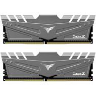 Teamgroup TEAMGROUP T-Force Dark Z 16GB Kit (2x8GB) DDR4 Dram 3600MHz (PC4-28800) CL18 288-Pin Desktop Memory Module Ram (Gray)