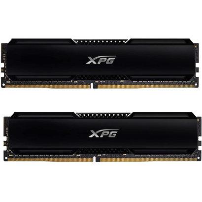 XPG XPG GAMMIX D20 DDR4 3200MHz 16GB (2x8GB) PC4-25600 SDRAM 288-Pins UDIMM Desktop Memory Kit Black X002VJ6E2R
