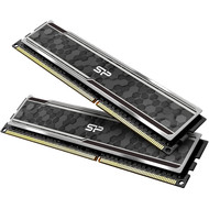 Silicon Power Silicon Power Gaming Series DDR4 32GB (16GBx2) 3200MHz (PC4 25600) 288-pin CL16 1.35V UDIMM Desktop Memory Module RAM with Heatsink Grey X002VJZJMX