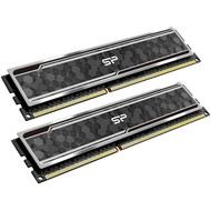 Silicon Power Silicon Power Gaming Series DDR4 16GB (8GBx2) 3200MHz (PC4 25600) CL16 1.35V Desktop Memory Module RAM with Heatsink Camouflage Grey