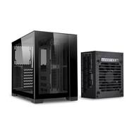 Lian Li LIAN LI O11D MINI-X Black With SP750 (750W ) SFX PSU / Aluminum / Tempered Glass ATX Mini Tower Computer Case O11D MINI750-X