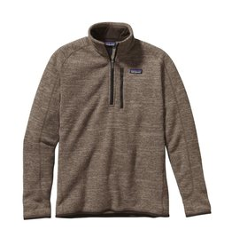 Patagonia Mens Better Sweater 1/4 Zip Pale Khaki