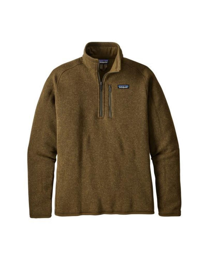 Patagonia Mens Better Sweater 1/4 Zip Sediment