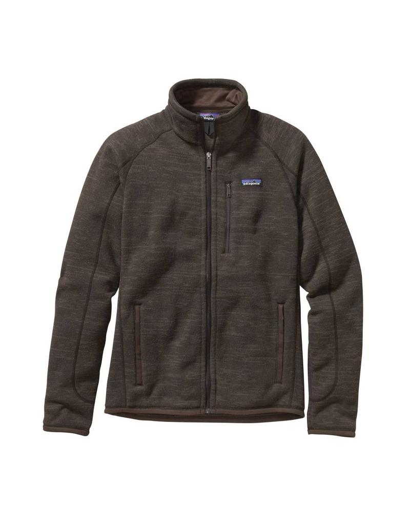 Patagonia Mens Better Sweater Jkt Dark Walnut