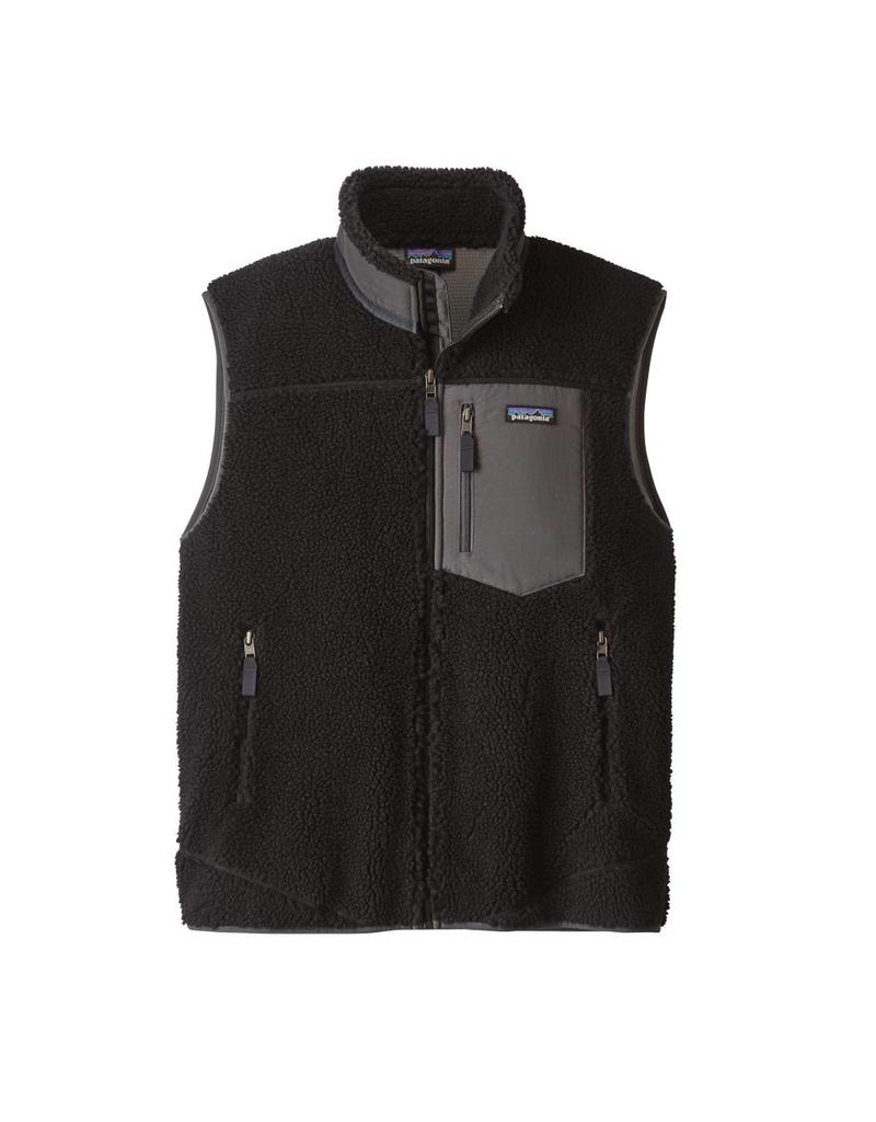 Patagonia Mens Classic Retro-X Vest Black w/Forge Grey