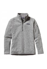 Patagonia Womens Better Sweater 1/4 Zip Birch White