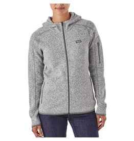 Patagonia Womens Better Sweater Hoody Birch White