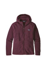 Patagonia Womens Better Sweater Hoody Dark Currant