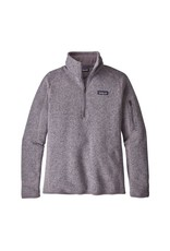 Patagonia Womens Better Sweater 1/4 Zip Smokey Violet