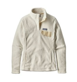 Patagonia Womens Re-Tool Snap-T P/O Raw Linen - White X-Dye