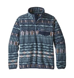 Patagonia Womens LW Synch Snap-T P/O Kuta Klash: Shadow Blue