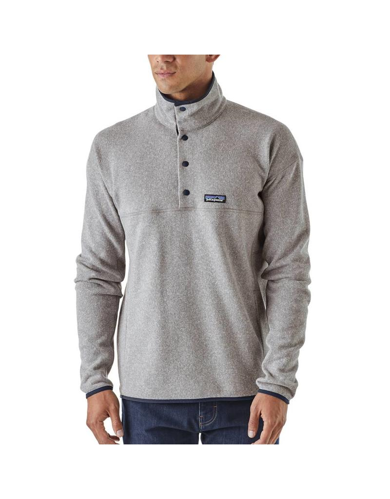 Patagonia Mens LW Better Sweater Marsupial P/O Feather Grey