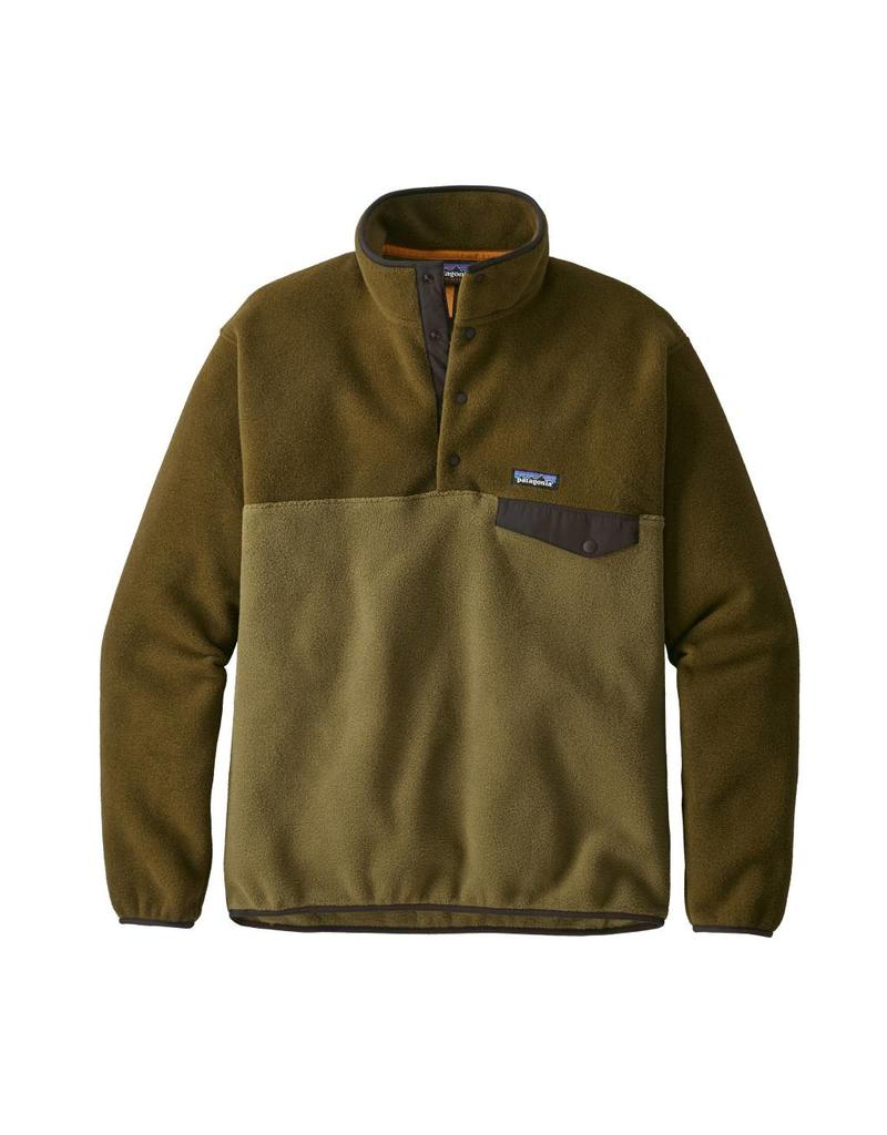 Patagonia Mens LW Synch Snap-T P/O Cargo Green
