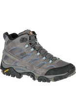 Merrell Womens MOAB 2 Mid Waterproof Granite