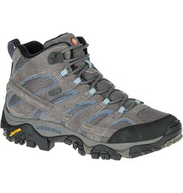 Merrell Womens MOAB Mid Waterproof Granite