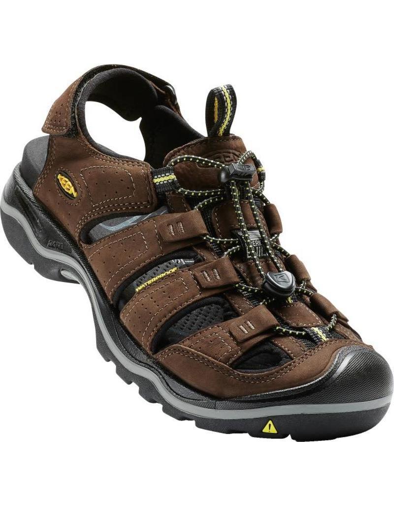 Keen Footwear MENS RIALTO- BISON/BLACK BISON/BLACK