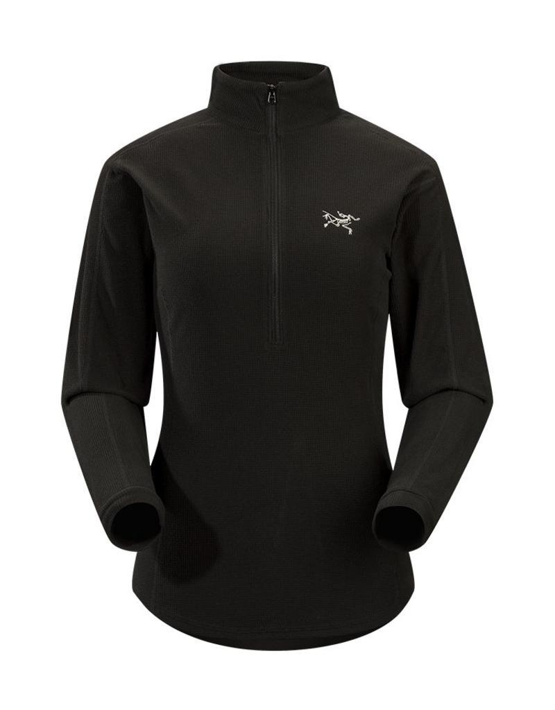 Arc'teryx Delta LT Zip Womens Black