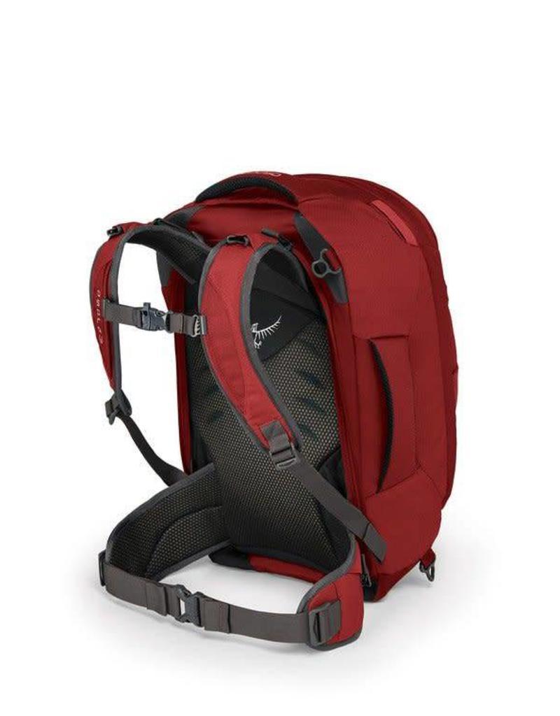 Osprey Farpoint 40 Travel Pack Jasper Red