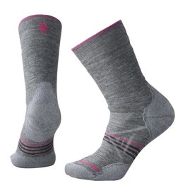 Smartwool Womens PhDOutdoor Medium Crew Medium Gray