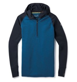 Smartwool Mens Merino 250 Baselayer Hoody Bright Cobalt