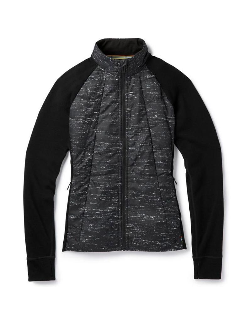 Smartwool Womens Smartloft 60 Jacket Black-Light Gray